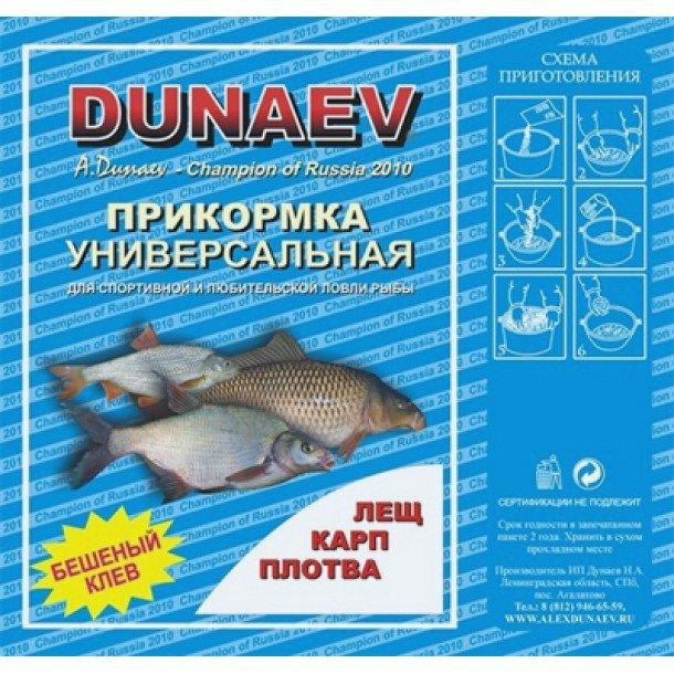 универсальная прикормка для рыбы