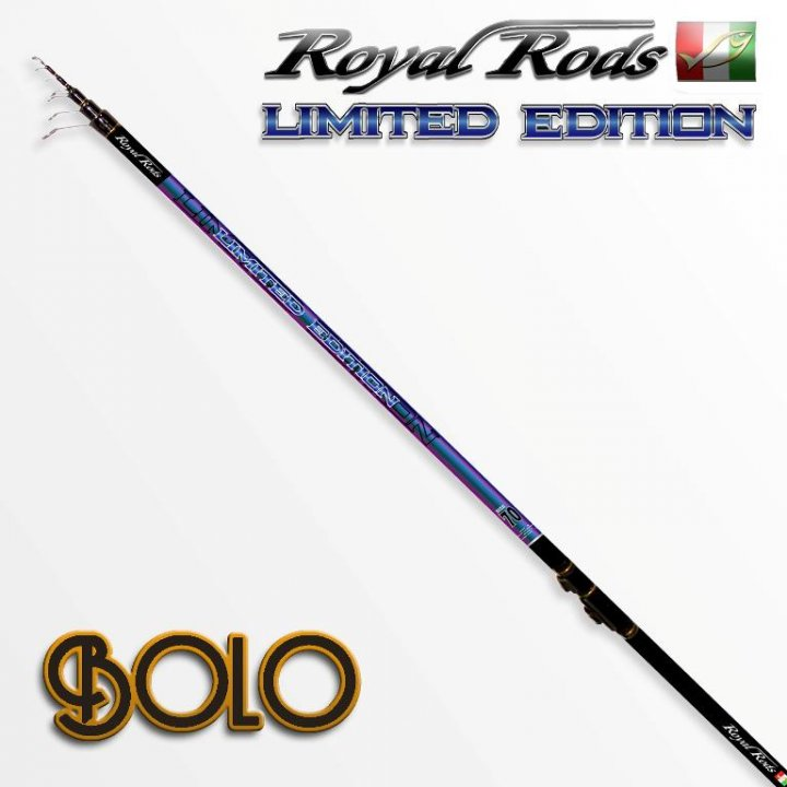 удилище royal rods limited edition
